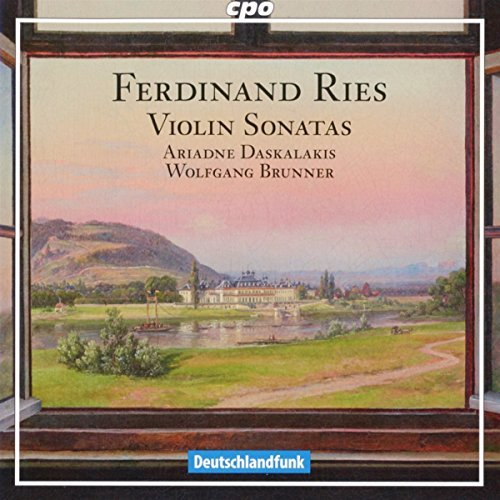 Ries:Violin Sonatas Ariadne Daskslskis; Super beauty product restock Free shipping / New quality top Wolfgang CPO Brunner