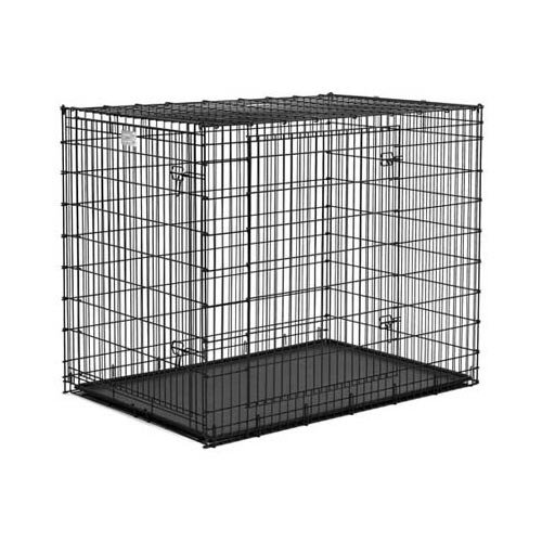 Solution Series Ginormous Double Door Crate 54'' x 37'' x 45'' (3 Pack) by Midwest Gloves