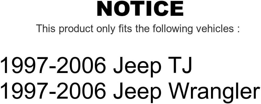 Front Suspension Stabilizer Bar Link Pair For Jeep Wrangler TJ