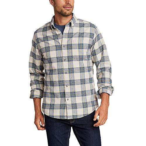 Eddie Bauer Men's Eddie's Favorite Flannel Classic Fit Shirt - Plaid