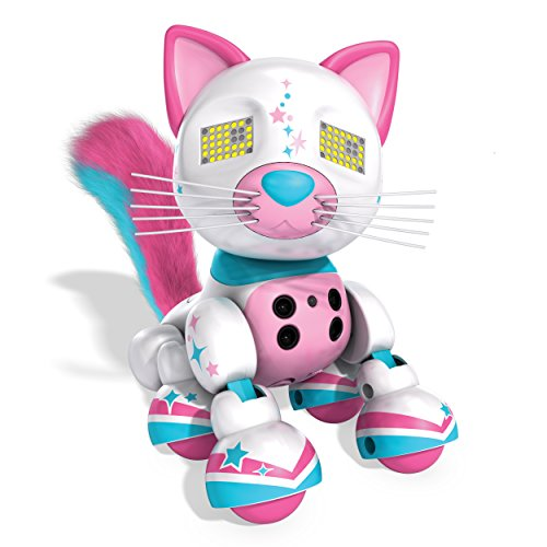 Zoomer - Meowzies - Fancy - Interactive Kitten with Lights - Sounds and Sensors
