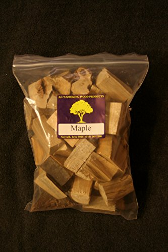 J.C.'s Smoking Wood Chunks - Gallon Sized bag - Maple - Maple Wood Chunks