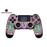 PS4 Wireless Custom Pewdiepie AiMControllers Zero Deaths Special Design with 4 Paddles.