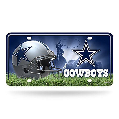 NFL Dallas Cowboys Metal License Plate Tag
