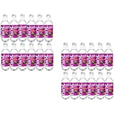 Hint Kick Essence Water, Black Raspberry w/ Caffeine, 16 Fl Oz (Case of 24)