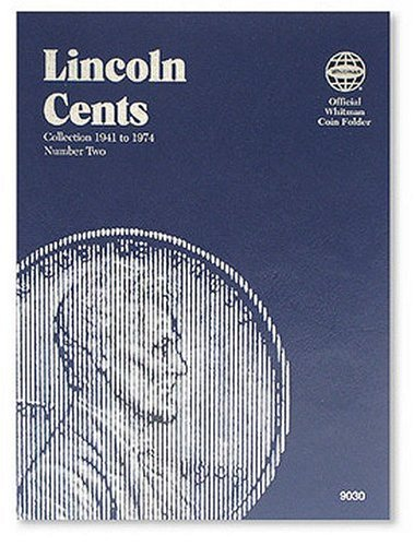 Folder Whitman - Lincoln Cents Folder #2, 1941-1974