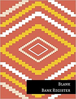 blank bank register insignia accounts 9781521255698 amazon com books