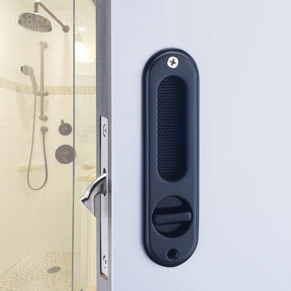 ZHFC Inicio Cocina baño Puerta corredera Cerradura Hardware Zinc ...