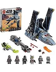 LEGO 75314 Star Wars The Bad Batch Attack Shuttle, Presentidé för barn 9+, Kloner och gonkdroid
