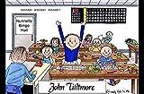 Personalized Friendly Folks Cartoon Side Slide Frame Gift: Bingo Player - Male Great for bingo player, gambler