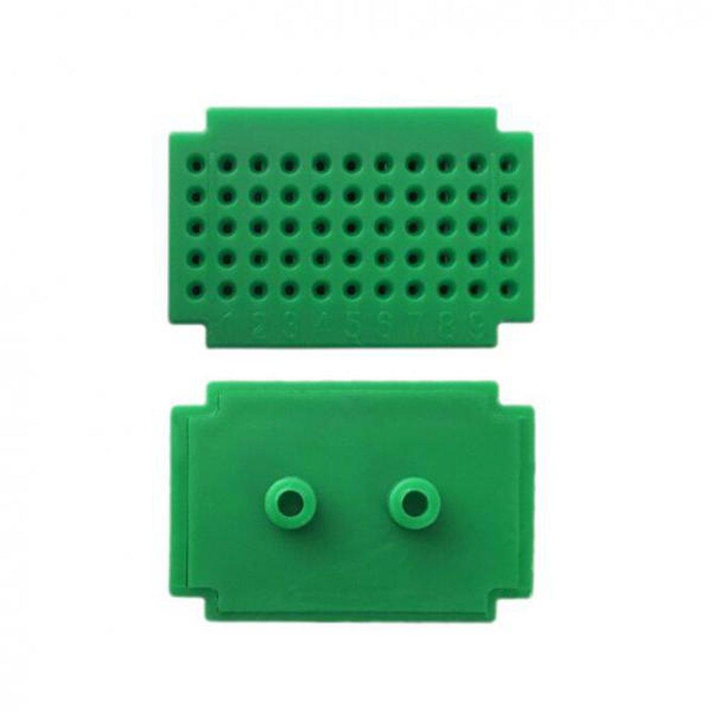MagiDeal 7 Pedazos ZY-55 Mini Tablero de Breadboard de Tablilla Libre Prueba de Soldadura