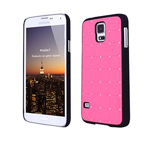 Super Best Iphone 5 / 5s CRISTAL DE LUXE Cross Green Diamond Case Hard Cover Bling avec cadre blanc pour Apple iPhone 5 / 5s