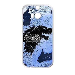 SHEP Winter unique map Phone Case for HTC One M8