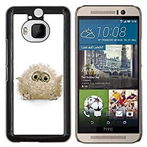 "Be-Star Único Patrón Plástico Duro Fundas Cover Cubre Hard Case Cover Para HTC One M9+ / M9 Plus (Not M9) ( Búho lindo del bebé"" )"