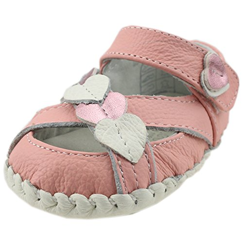 Orgrimmar Baby First Walkers Soft Sole Leather Toddler Shoes