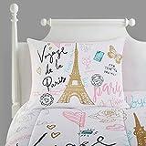 Heritage Kids Bonjour Comforter Set, Full, Pink