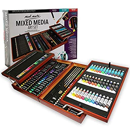 Mont Marte Studio Essentials Mixed Media Art Set