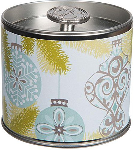 Silver Spruce Signature Tin Candle by Greenleaf, 6 oz.