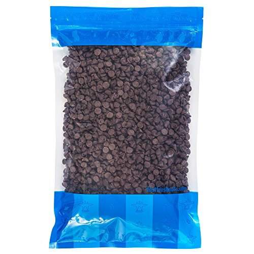 Bulk Semi Sweet Chocolate Chips - 5 lbs in a Resealable Bomber Bag - Great for Baking - Snacking - Cooking - Wholesale