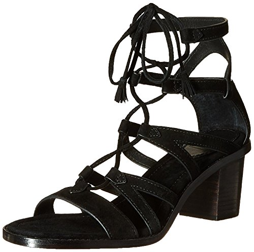 FRYE Women's Brielle Gladiator Dress Sandal, Black, 8 M US by FRYE