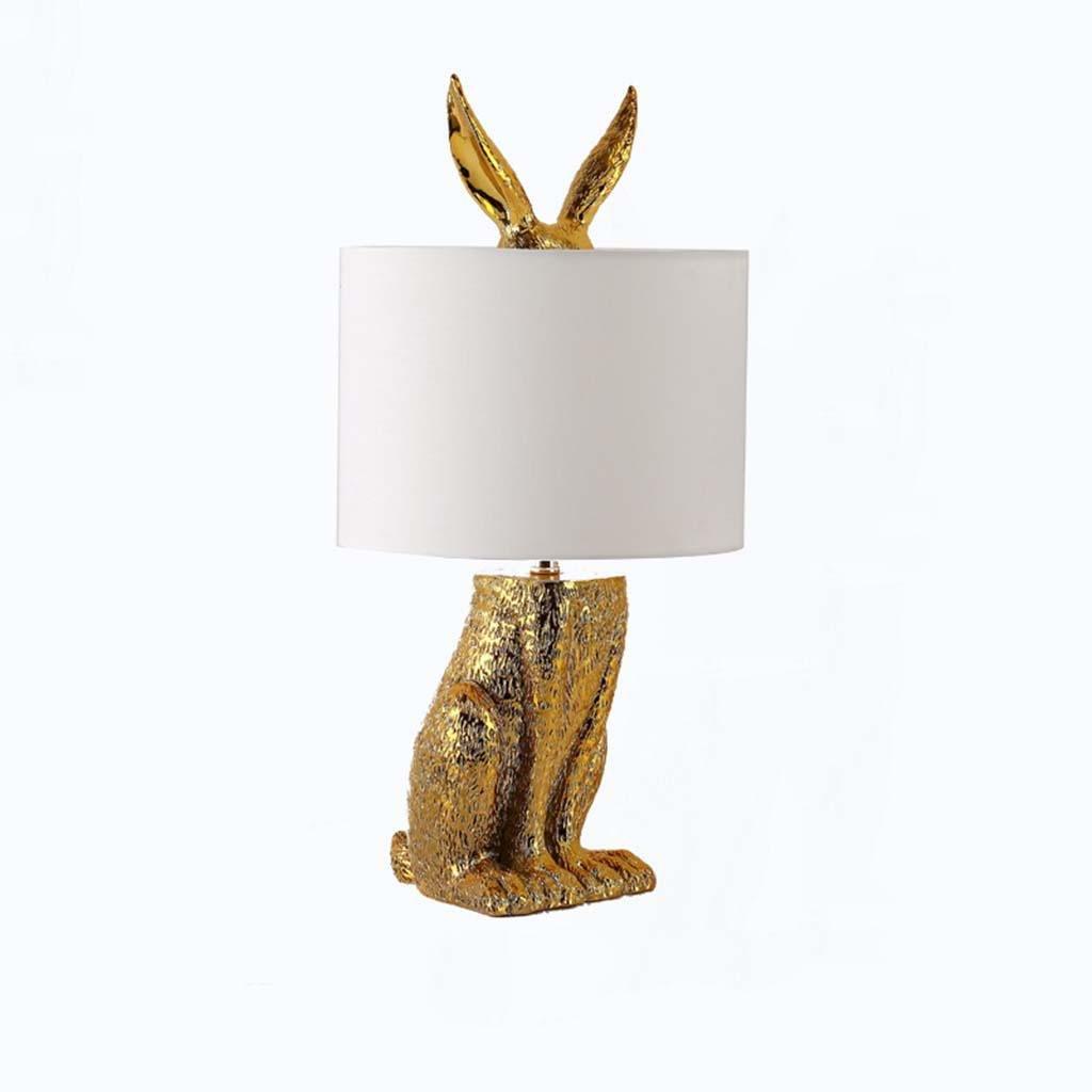 TSJT Lámpara de Escritorio Creativa Dormitorio Simple Pantalla ...