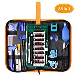 WOWGO Precision Screwdriver Set, 85 in 1 Cell Phone Repair Kit Portable Bag for iPad, PC, Laptop,Watch