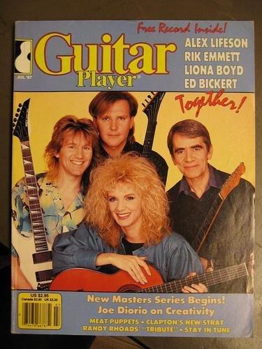Guitar Player Rock Magazine July 1987 Alex Lifeson RUSH Rik Emmett CARS Liona Boyd Ed Bickert Randy Rhoads Eric Clapton Meat Puppets (Guitar Player Magazine)