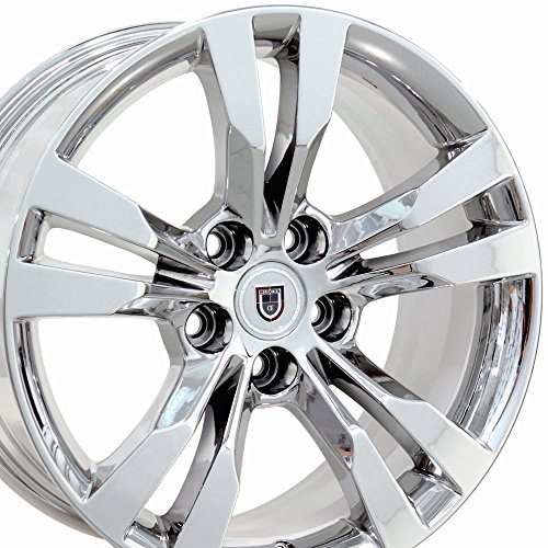 OE Wheels 18 Inch Fits Cadillac ATS CTS STS CTS Style CA15A Chrome 18x8.5 Rim Hollander -