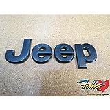 2016 Jeep Wrangler Granite Crystal Namepate Emblem Mopar OEM