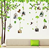 COFFLED Huge Size Art Photo Frames Wall Decal Stickers,Memory Tree,Easy to Apply and Repositionable Wall Decoration by COFFLED
