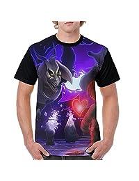 Men's Undertale T-shirt Novelty Graphic Screw-Neck Tshirts