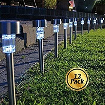 Solar Pathway lights [12 Pack] Koolife [Stainless Steel] Led Path Landscape & Solar Pathway lights [12 Pack] Koolife [Stainless Steel] Led Path ... azcodes.com