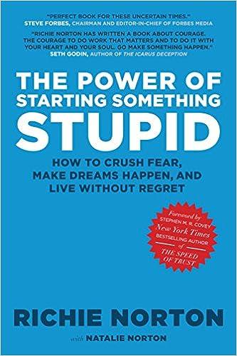 The Power of Starting Something Stupid: Richie Norton ...