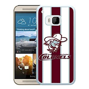 NCAA Eastern Kentucky Colonels 4 White Customize HTC ONE M9 Phone Cover Case