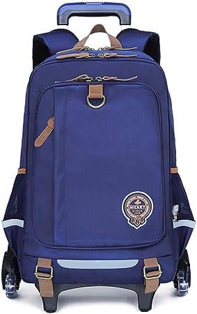 Middle school student bag fashion trolley bag