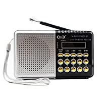 RADIO RETRO BLUETOOTH DIGITAL FM USB SD PORTATIL RECARREGAVEL