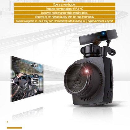 Lukas LK-7500G LK-7500 REAL Dash Camera + GPS + 32GB SD Card + UV Lens (LK-7200 UPGRADED MODEL / PARKING MODE CAPABILITY)