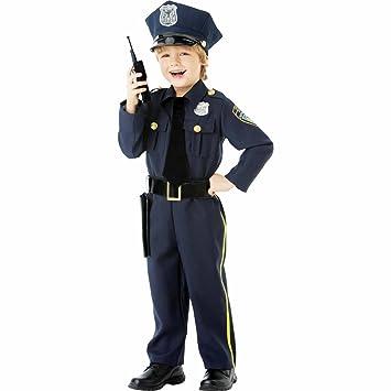 Amscan International - Disfraz infantil policía (999664): Amazon ...