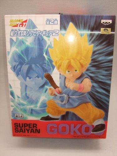 Dragon Ball GT Vorgefertigten DX Soft Vinyl Abbildung 2 Super Saiyan Goku Japan Import