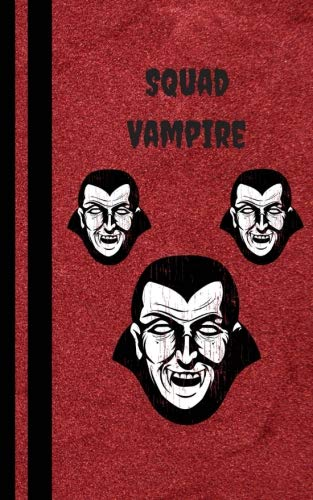 Vampire Squad: Halloween Book For Kids - Trick or Treat Books Journals Diary - College Rule Lined Writing Book 5 x 8 inches (MindCandy Halloween Books) (Volume -