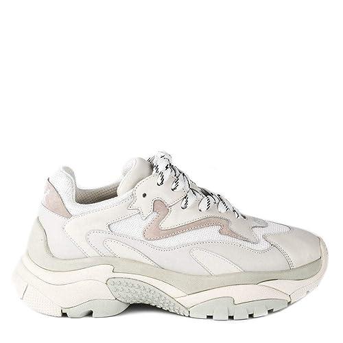 Ash Atomic Zapatillas de Deporte para Hombre, Off White: Amazon.es: Zapatos y complementos