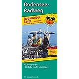 Bodensee-Radweg: Leporello Radtourenkarte mit Ausflugszielen, Einkehr- & Freizeittipps, wetterfest, reissfest, abwischbar, GPS-genau. 1:50000 (Leporello Radtourenkarte / LEP-RK)