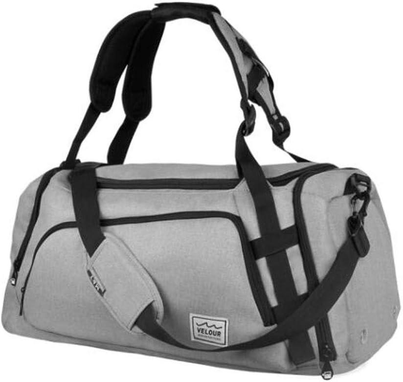 Large-Capacity Fitness Bag Kaiyitong Sports Bag Large-Capacity Shoulder Bag for Travel Male and Female Travel Bag Portable Sports Bag Large Size: 572628cm Waterproof Travel Bag