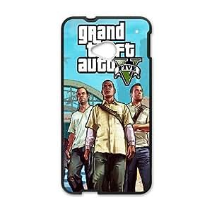 GTA 5 Trevor Franklin and Michael HTC One M7 Cell Phone Case Black NiceGift pjz0035046262