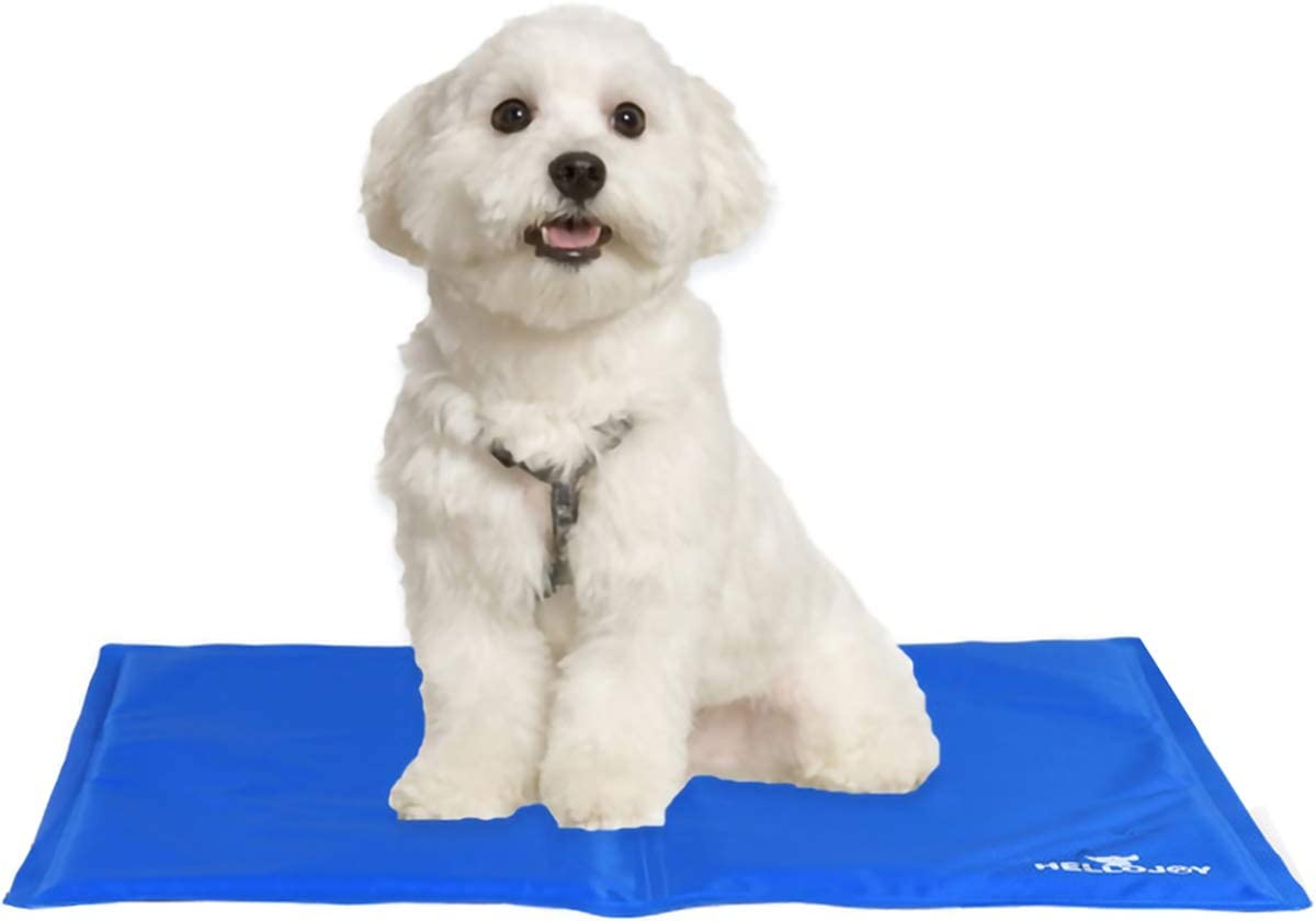 Keowaph Pet Cooling Mat Ice Pad Dogs Cats Bed Sleeping In