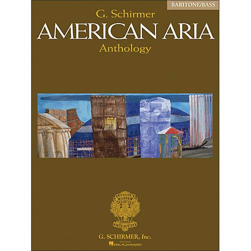 (G Schirmer American Aria Anthology Baritone/Bass Voice Pack of 2 )