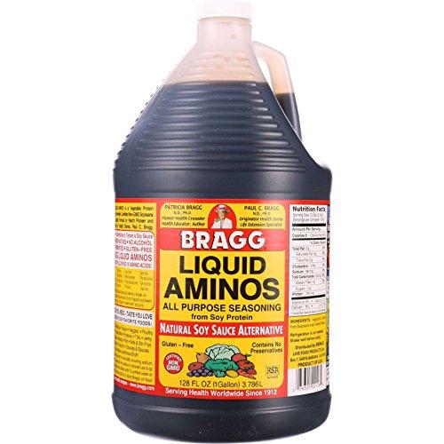 Bragg Liquid Aminos - 128 oz - case of 4 - - Gluten Free - - - - by Bragg