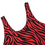TWGONE Zebra Print Shirt Women Ladies Summer