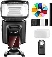 Neewer TT560 Flash Speedlite met 12 kleurenfilters en IR draadloze afstandsbediening kit voor Canon Nikon Panasonic...