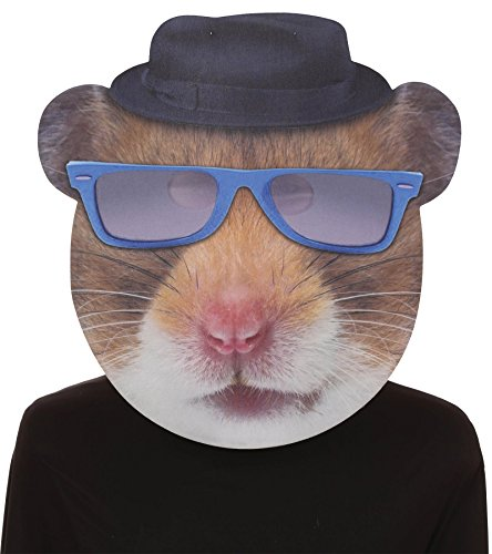 Tv Commercial Costumes Halloween (Hip Hop Hamster Mask)
